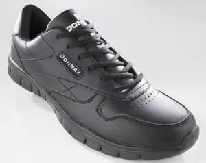 Sportschuh, federleicht, in Übergrößen,Farbe schwarz Donnay