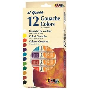 C.Kreul - El Greco: Gouache Colors, 12er Set