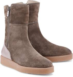 Winter-Bootie von Marc O'Polo in taupe für Damen. Gr. 37,39
