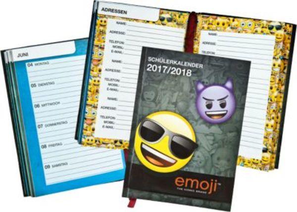 Schülerkalender Emoji 2017/2018