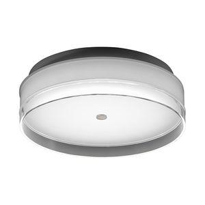 EEK A+, LED-Deckenleuchte Yuma II Metall - Weiß, Helestra