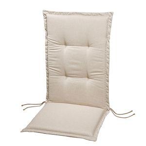 Polsterauflage Lorelai - Beige - Relax-Hochlehner - 175 x 50 cm, Best Freizeitmöbel