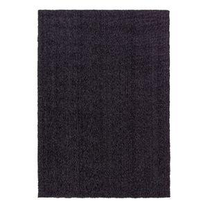 Teppich Livorno Melange - Kunstfaser - Anthrazit - 170 x 240 cm, Astra