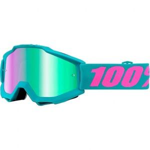 100%            Accuri Crossbrille türkis/pink verspiegelt