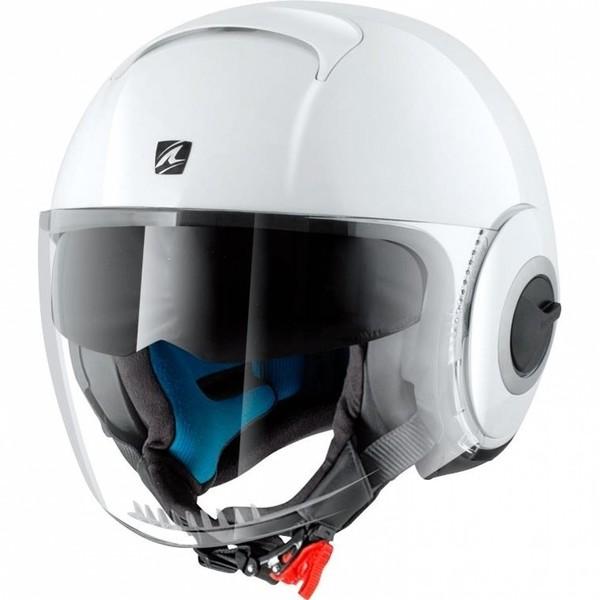 Shark helmets            Nano Blank White
