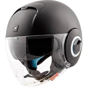 Shark helmets            Nano Blank Mat Black