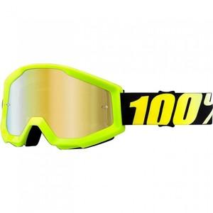 100%            Strata Crossbrille gelb verspiegelt