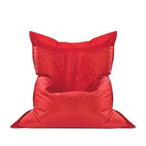 BOXXX SITZSACK Textilgeflecht Uni Rot