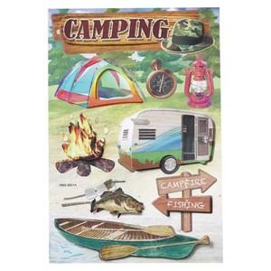 HobbyFun 3D Sticker Camping