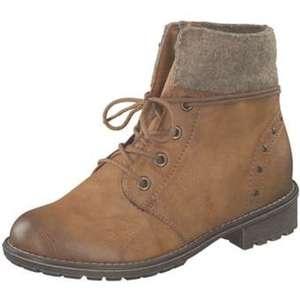 Rieker Schnür Boots Mädchen braun