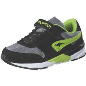 KangaROOS Chinu V4 Klett Sneaker Jungen schwarz