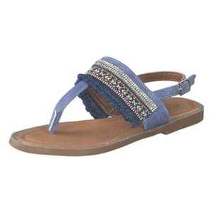 Leone Sandale Mädchen blau