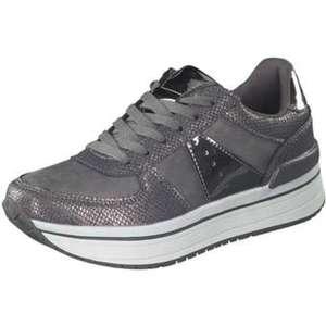 Claudia Ghizzani Plateau Sneaker Damen grau