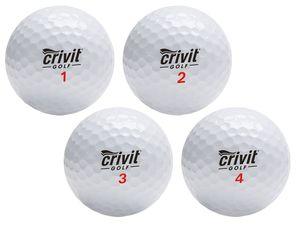 CRIVIT® Premium-3-Piece-Golfbälle