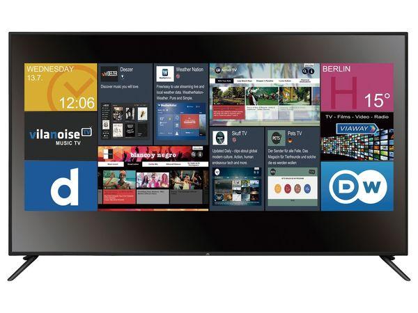 JTC GALAXIS 7.5 UHD 4K  Fernseher, 75 Zoll,  Smart TV