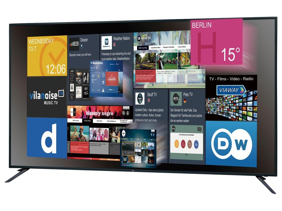 Bild 2 von JTC GALAXIS 7.5 UHD 4K  Fernseher, 75 Zoll,  Smart TV
