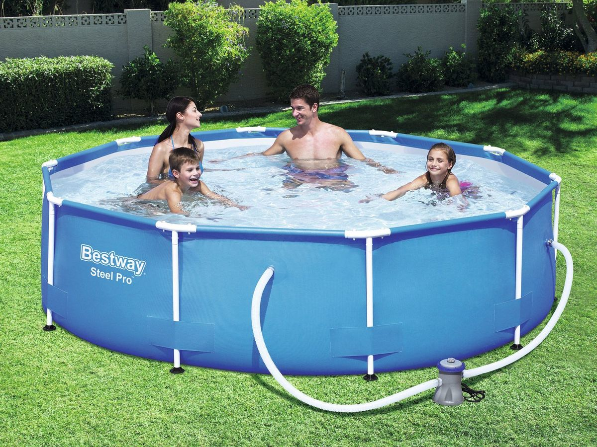 Bild 4 von Bestway Steel Pro Pool Set, Stahlrahmenpool mit Filterpumpe
