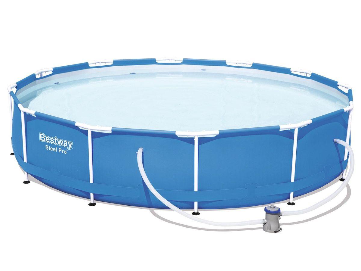 Bild 5 von Bestway Steel Pro Pool Set, Stahlrahmenpool mit Filterpumpe