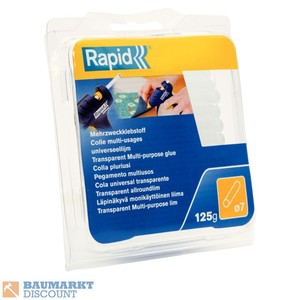 Rapid Klebesticks 125 g 7 mm