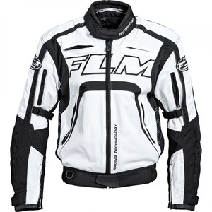FLM            Sports Damen Textiljacke 2.0 weiß/schwarz