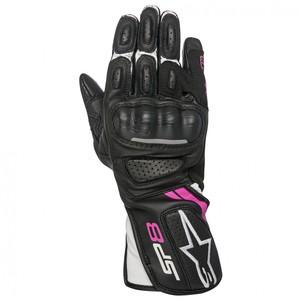 Alpinestars            Stella SP-8 V2 Damen Handschuh schwarz/weiß/rot