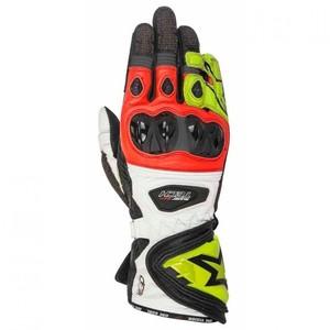 Alpinestars            Supertech Handschuh schwarz/neongelb/rot