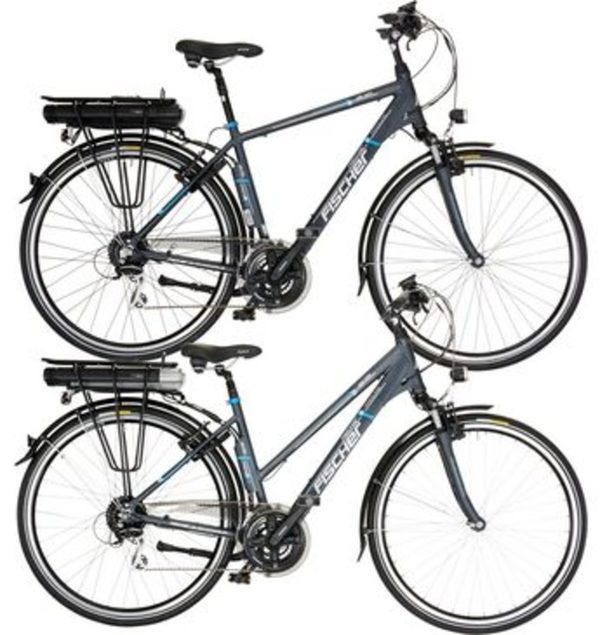 FISCHER Sparset Da./He. Trekking E-Bike, 36V/250W HR-Motor, 24 G.-Shimano Kettensch., »ETH/ETD 1401«