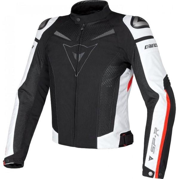 Dainese            Super Speed Textiljacke schwarz/weiß/rot