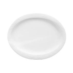 Seltmann Weiden Teller oval Ø 24/29 cm ALLEGRO UNI 3 Weiß