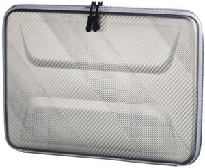 Hama Notebook-Hardcase Protection bis 34 cm (13,3´´) grau/silber