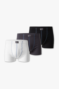 Angelo Litrico         Trunks - Bio-Baumwolle - 3er Pack