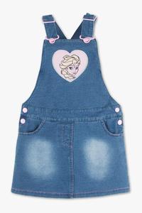 Disney Girls         Die Eiskönigin - Jeans-Latzkleid