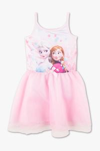 Disney Girls         Die Eiskönigin - Kleid - Glanz Effekt