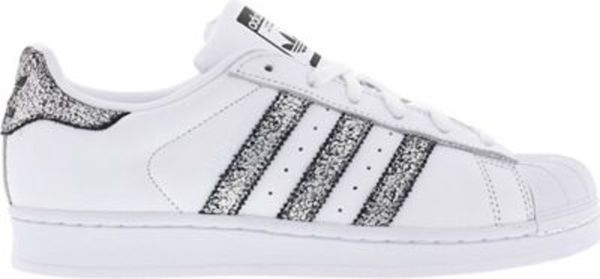 adidas ORIGINALS SUPERSTAR GLITTER Damen Sneaker von