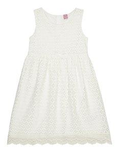 Mädchen Kleid aus Spitze