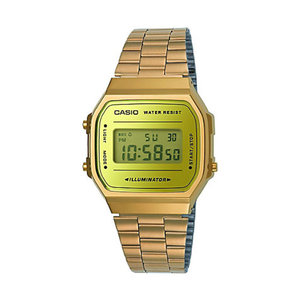 Casio Unisexuhr Collection Retro A168WEGM-9EF