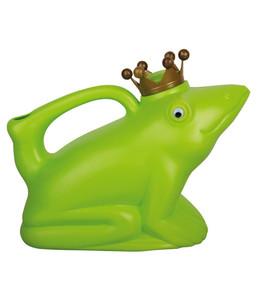Esschert Froschkönig-Gießkanne für Pflanzen, grün, 1,5 l