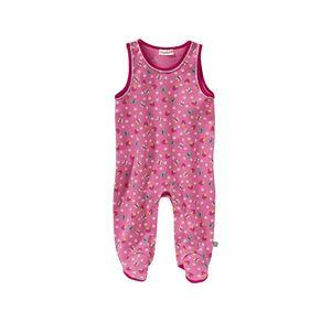 Baby-Mädchen-Strampler mit Frühlings-Muster