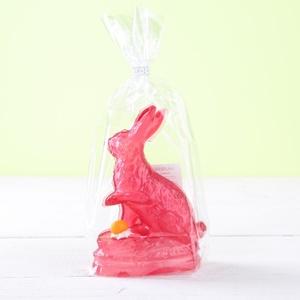 Zucker-Sitzhase 70g 15cm rot 2,86 € / 100g