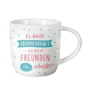 Tasse ´´Es heißt Freundschaft, weil man mit Freunden alles schafft!´´