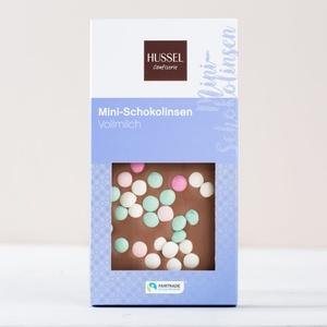 Fairtrade Mass Balance Edelvollmilch Mini-Schokolinsen 90g 4,44 € / 100g