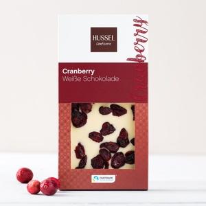 Fairtrade Mass Balance Weiße Schokolade Cranberry 90g 4,44 € / 100g