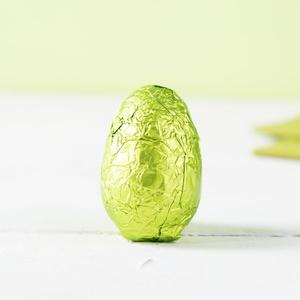 Schokoladen Ei grün 20g