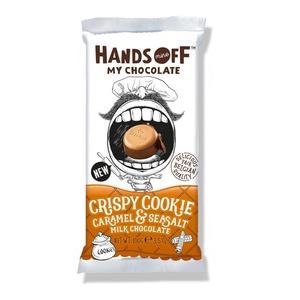 Hands Off Crispy Cookie 100g 3,40 € / 100g