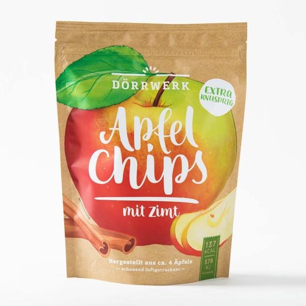 Apfel-Chips Zimt 40g 6,25 € / 100g