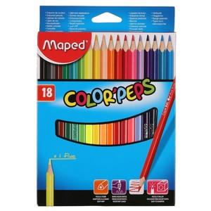 Maped Color Peps Buntstifte, 18er-Set