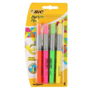 BIC Highlighter, 4er-Set