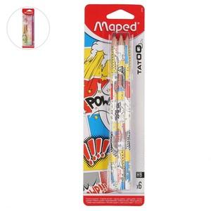 Maped Tatoo Bleistifte, 6er Pack