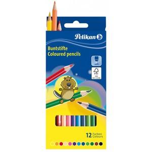 12 Buntstifte von Pelikan