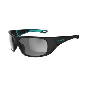 TRIBORD Sonnenbrille Sport Segeln 500 Erwachsene polarisiert Kat. 3 schwarz/türkis, Größe: No Size